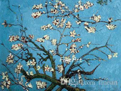 handmade painting vincent van gogh famous paintings reproduction almond blossom wall art deco living room with modern decorative paintings u