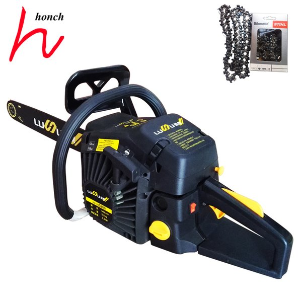 Professional garden equipment petrol 2-stroke chainsaws 3/8 20 inch 68 drive links with high quality carburetor big chainsaws for sale