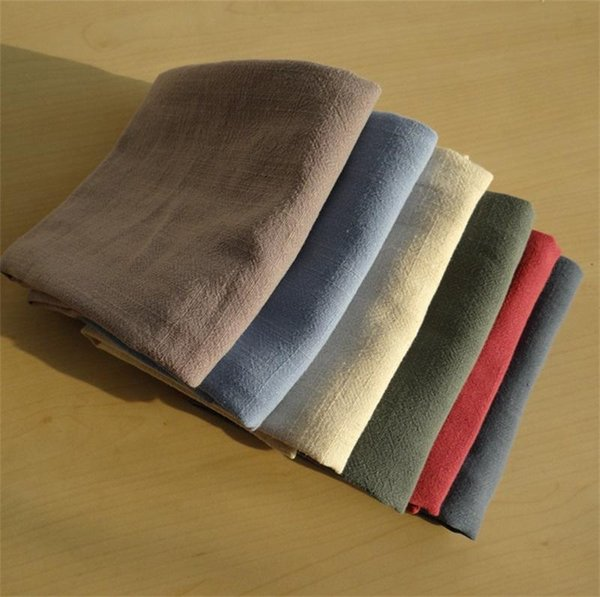 Cotton Linen Plain Colour Napkin Home Furnishing Table Kitchen Baking Dinner Cloth Water Absorption High Quality Napkins Multicolor 5 5sd ff