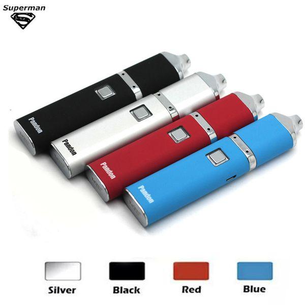 Yocan Pandon Kit penna cera originale al 100% Quarzo Dual Coil Vaporizzatore 1300mah Kit batteria cera e Sigaretta incorporata