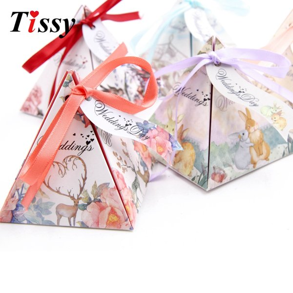 Diy Gift Box Beautiful Creative Forest Candies Packages Wedding Favors And Gifts Boxes For Party Decoration Supplies Baby Gift Wrapping Paper Baby