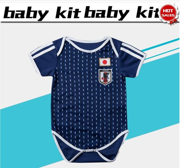 9df658e5049 Japan home Baby soccer Jersey For 6 To 18 Month 2018 World Cup Japan blue  soccer