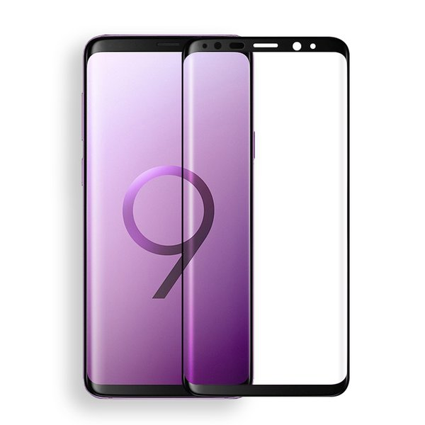 tempered glass Curved Full Cover Glass For Samsung Galaxy S6 S7 Edge S8 S9 Plus a5 j5 j7 2017 Protect Film for samsung note 8