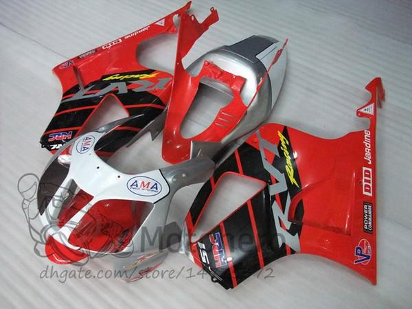 Fairing kits for HONDA VTR1000 RC51 SP1 SP2 00 01 02 03 04 05 06 Fairings set VTR1000RC51 SP1/2 red silver black white