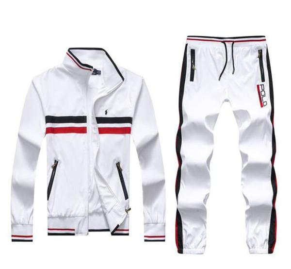 Sweats à capuche et sweat-shirts de sport Vêtements de sport Homme Polo Pantalon de jogging Jogging Jogger Ensembles Col Roulé Survêtements de sport Survêtements 001
