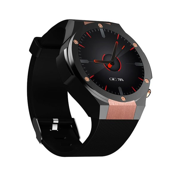H2 IP68 Waterproof Smart Watch MTK6572 1.39inch 400*400 GPS Wifi 3G Heart Rate Monitor 16GB+1GB For Android IOS 5.0M Camera 500W