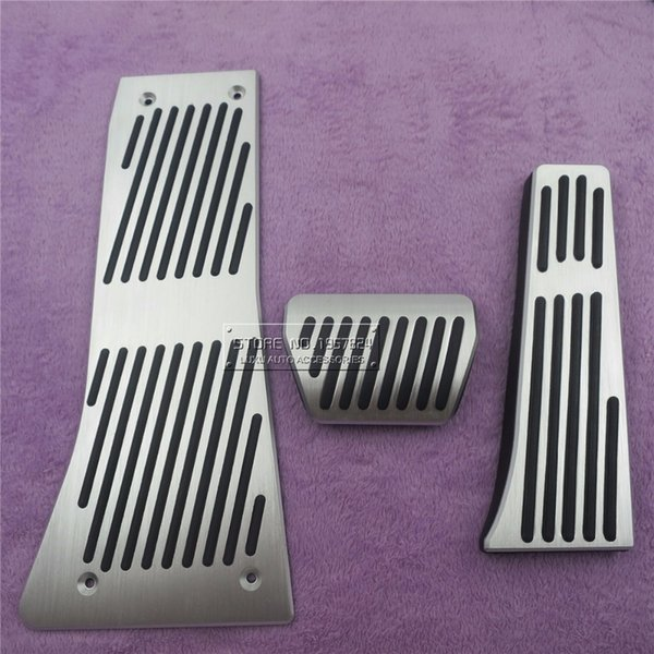 Car Accessories For X5 X6 Series E70 E71 E72 F15 AT Accelerator Brake Foot Rest Pedal Pads,Styling Gas Refit Sticker styling