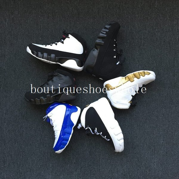 Free Shipping Kids 9 basketball Shoes [LA] 9s Sneakers Kids Size 28-35 For sale Come With Box