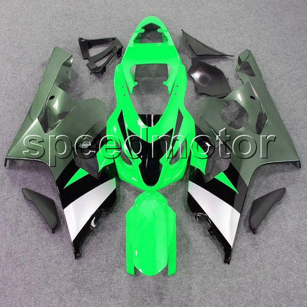 23colors+Gifts green motorcycle Fairing for Suzuki GSXR600/750 2004-2005 GSXR750 GSX-R600 K4 04 05 ABS plastic kit