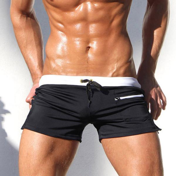 34803784cf Sexy Swimsuit Man 2018 New Swimwear Men Gay Mens Swimwear Swimsuits  Swimming Trunks Mens Swim Briefs