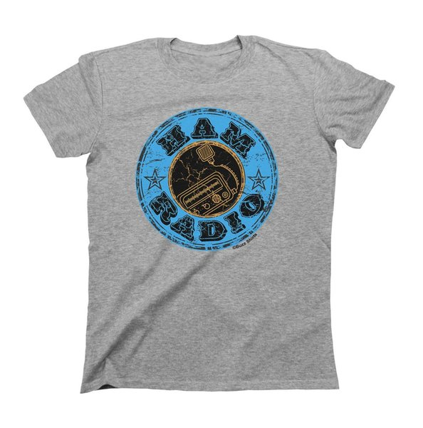 HAM Radio Distress Style Camiseta Hombre Mujer Unisex Fit Funny Gift