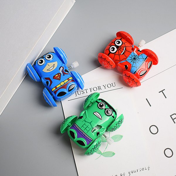Stalls selling children's toys inertia skip chain wind-up creative gifts wholesale mini cartoon car