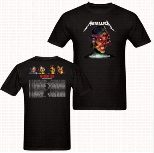 Heavy Metal Wholesale 2017 2018 Rock T shirt men USA size S-3XL New 2018 Fashion Summer Adults Casual Tee Shirt French Bulldog