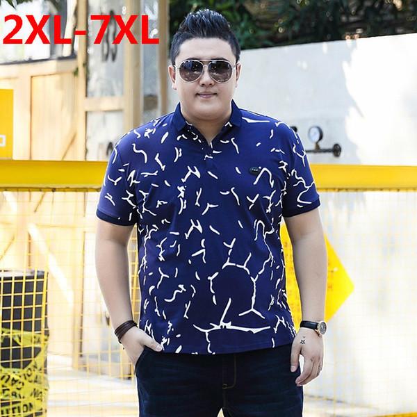 Плюс размер 10XL 9XL 8XL 7XL размер 6XL 5XL большой размер 4XL хлопок свободного покроя мужчины рубашка 2018 покроя полосатый тонкий с коротким рукавом большой размер свободные