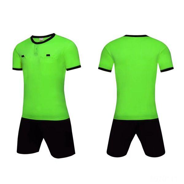Football Wear Soccer Judge Uniforms Professional Soccer Referee Jersy Training Shorts Football Suit