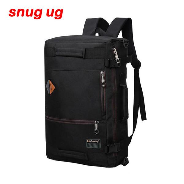 High Quality Large capacity men bags Nylon bucket shoulder bag man travel backpack Mountaineering backpack Multi function bag