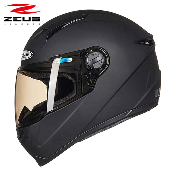 ZEUS ZS-811 full face motorcycle helmet motorbike racing helmets unisex four season suit removable washable liner DOT approve