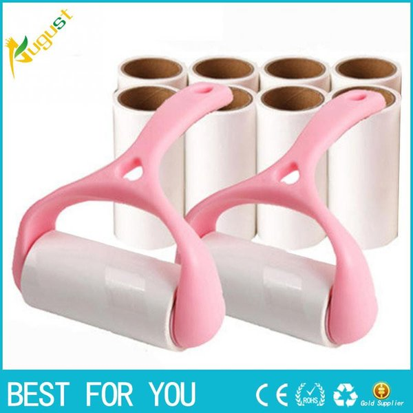 One set Sticky Hair Cloth Sticky Buddy For Wool Dust Catcher Carpet Sheets Hair Pet Hair Sucking Sticky Lint Hair's Cleaning Brush Roll
