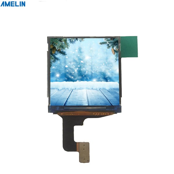 1.3 inch 240*240 TFT LCD module screen with IPS viewing angle display from shenzhen amelin panel manufacture