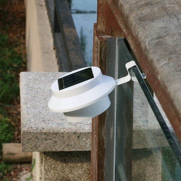 Cross-boundary solar light 3LED sink fence eaves courtyard lamp inductive wall lamp
