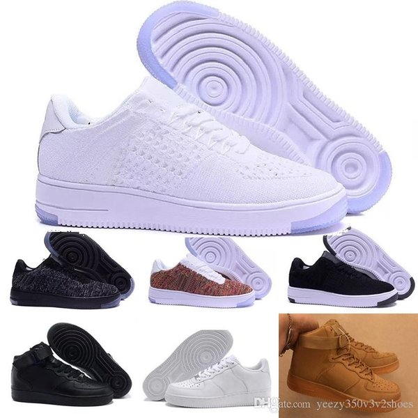 138f06a0e Nike air force 1 one Llegadas New One Dunk Hombres Mujeres Flyline Running Zapatos  Deportes Skateboarding