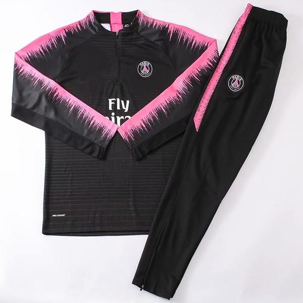 Üst 2018 2019 PSG eşofman 18 19 Paris MBAPPE JR LUCAS psg uzun kollu eğitim takım Futbol ceket takımı Eğitim takım üniforma ch ...