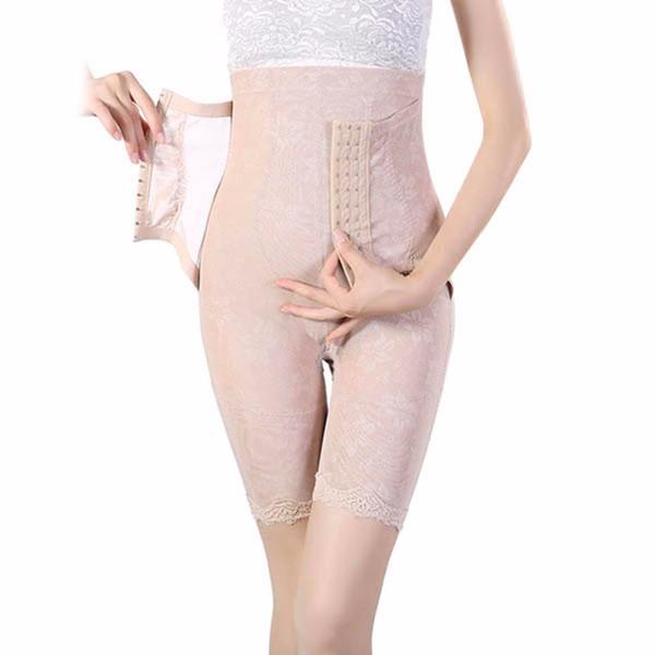 Mujeres; S Seamless Leg Shapewear Cintura de abdomen Cincher Slim Body Shaper Pantalones para mujer Talla Xl Xxl Xxxl