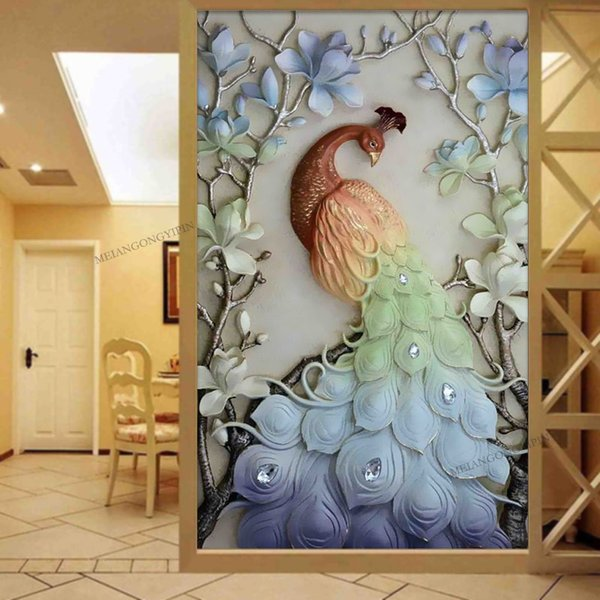2017 Full diamond painting Pink peony pattern Decorative Painting rhinestone Handmade mosaic flowers Diy diamond embroidery