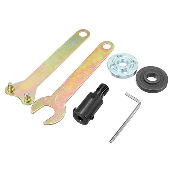 Freeshipping 5mm Shank M10 Arbor Mandrel Adapter Cutting Tool Accesorios para amoladora angular