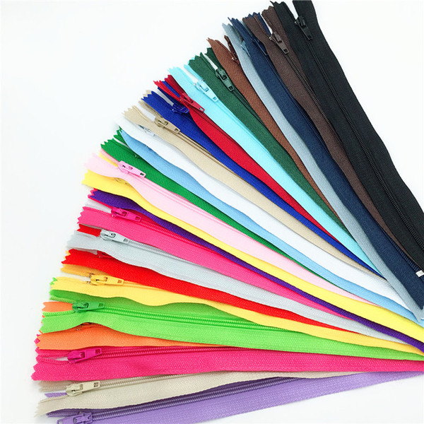 best selling 1 centimeter #2 Closed Nylon Coil Zippers Tailor Sewing Craft (8-24 Inch) Crafter's &FGDQRS (Color U PICK)