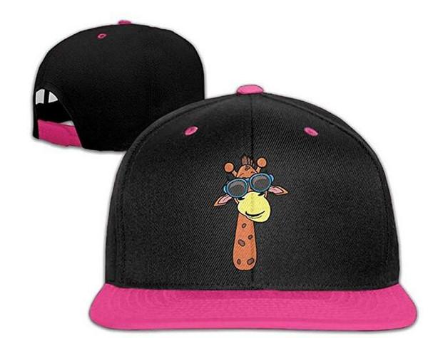 Fashion Vintage Hat Giraffe Adjustable Dad Hat Baseball Cowboy Cap