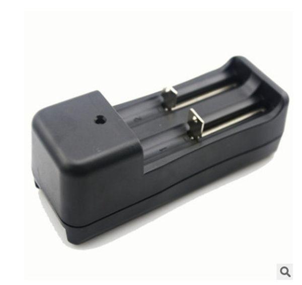 18650 18350 14500 li-ion bateria EU EUA carga dupla slots de fole carregador universal recarregável de íon de lítio carregador de baterias para Vape DHL