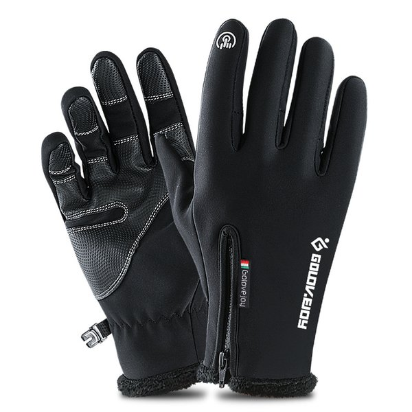 Thermal Ski Gloves men Winter Fleece Waterproof Snowboard Gloves Snow Motorcycle Skiing Sportswear Audlt Guantes Ciclismo