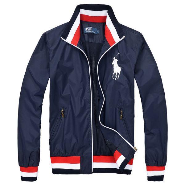 Commercio all'ingrosso 2018 autunno inverno cappotto da uomo con cappuccio sportivo maglione moda casual giacca sportiva da corsa giacca fitness Giacche sport per gli sport
