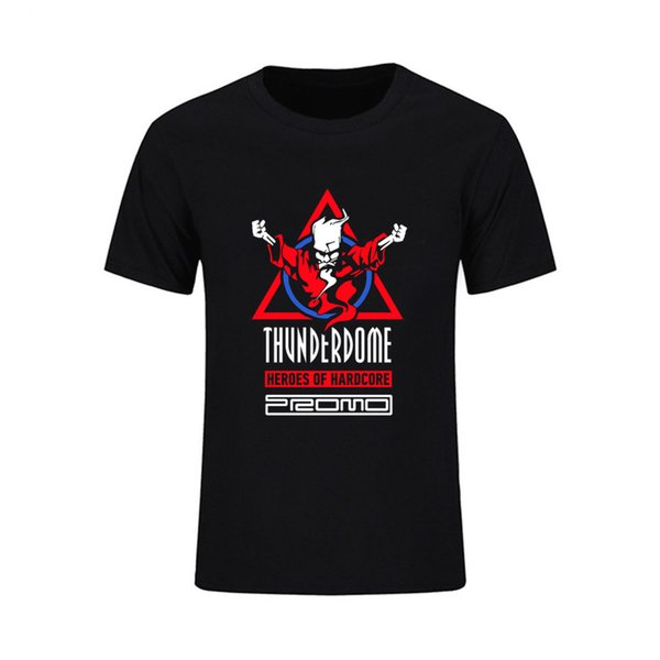 world-wide selection of stable quality buy online Thunderdome Heroes Of Hardcore And Dj Promo O Neck Custom Family Tshirt Man  Short Sleeved Tee Male T Shirts Oversized T Shirt Pp Fun Shirt Designs For  ...