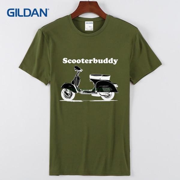 Niza camiseta para chicos 2018 Scooterbuddy alta calidad camisetas cómodo y fresco diseño personalizado camiseta