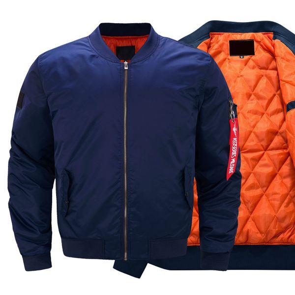 Igldsi flying bombardeiro jaqueta nova 2018 dos homens primavera outono fina manga longa jaquetas militares do exército casacos casuais com fita