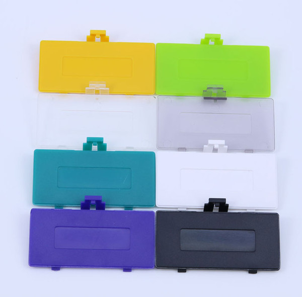 top popular Multi-Color New Plastic Battery Back Cover Door for Gameboy Pocket GBP Replacement DHL FEDEX EMS FREE SHIPPING 2021