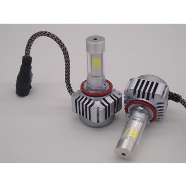 H1 H4 H7 H811 90095 90096 90097 600W 120000LM CREE LED Headlight Kit High or Low Beam Bulb Xenon 6000K Power