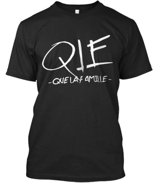 T confortável Qlf - T-shirt unisex padrão de Qie Que Laf Camiseta