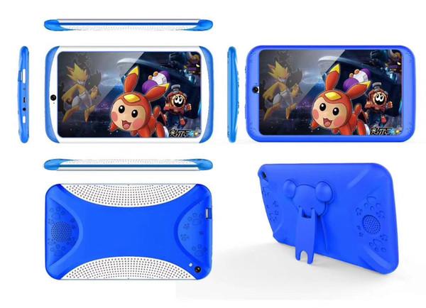 Un bon cadeau de Noël! 7 pouces Tablette Android Quad Core Tablet PC 8GB 1024x600 Ecran Jeux Education Enfants