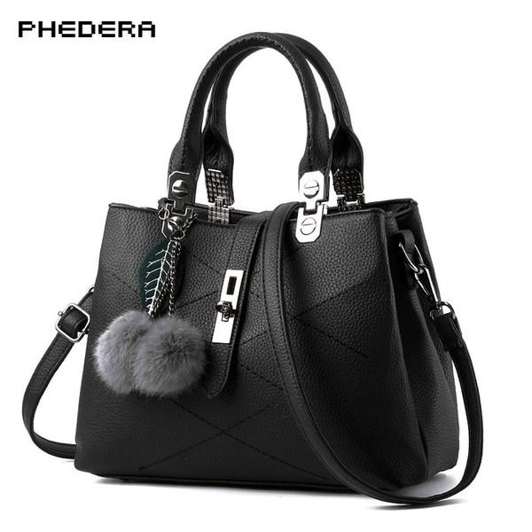 New Fashion Women Handbags Soft Leather 2017 Pu Women Brand Bags Hot Sale Autumn Shoulder Bags for Girls Best Presents E02