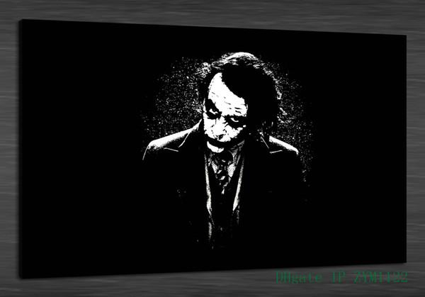 2019 Black White Joker Home Decor Hd Printed Modern Art Painting On Canvas Unframed Framed From Zym1122 7 69 Dhgate Com