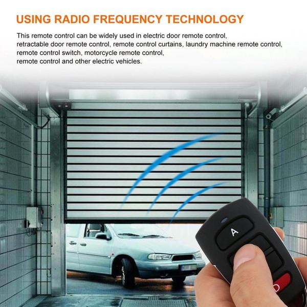 5PCS Universal Remote Control Key 4 Buttons 433MHz Electric Garage Door Security Alarm System Wireless Controller Key Car Keys