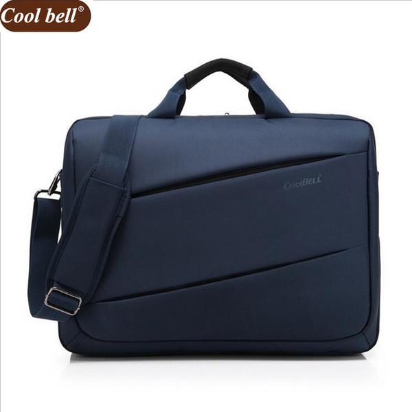 Cool Bell 17 Inch Big Oxford Computer Laptop Solid Notebook Tablet Bag Case Messenger Shoulder Handbags Men Women Dura D117