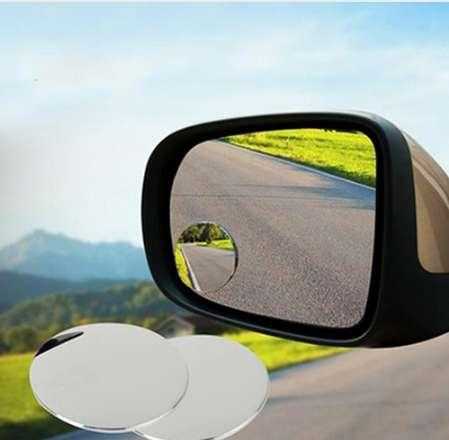 New Trendy 1 Pair Side 360 Wide Angle Round Car Vehicle Blind Spot Dead Zone Rear View Mirrors