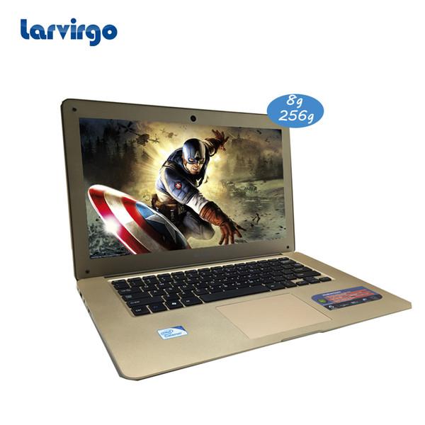 14 inch running smooth 8G Ram 256G SSD laptop Intel Celeron J1900 2.0GHz windows 10 system built in camera tablet
