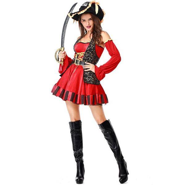 Compre S 2xl Cosplay Para Mujer Disfraz De Pirata De Halloween Disfraces De Navidad Para Mujeres Encantadoras Juegos De Vestir De Niña Ropa De Belleza