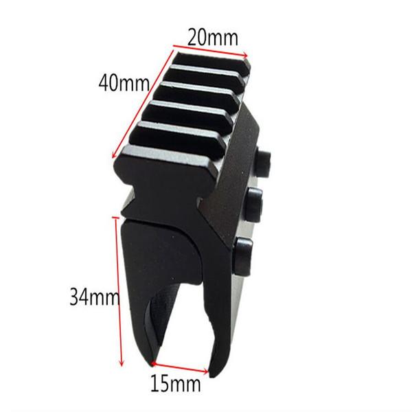 FIRECLUB 20mm Picatinny Weaver Schiene Montieren Basis Adapter Taktische Jagdgewehr Gun Scope Mount Converter Laser Anblick