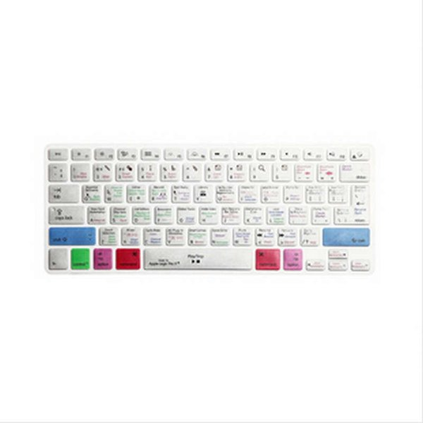 Logic Pro X Keyboard Cover Shortcut Printed Cover for MacBook Air Pro Retina 13